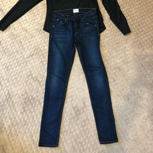 Hudson jeans (Lilly midrise ankle skinny)